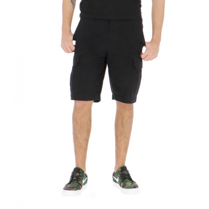 dickies shorts black