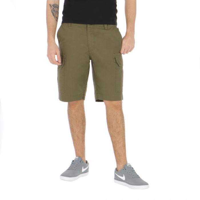 dickies shorts dark olive
