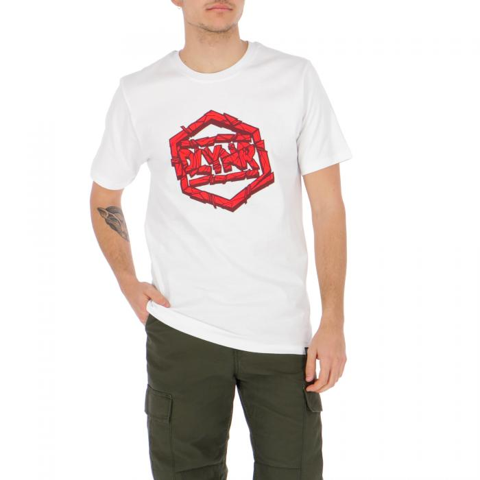 dolly noire t-shirt e canotte white red