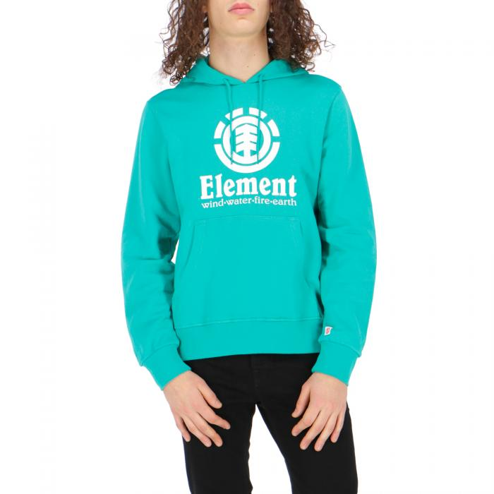 element felpa cappuccio dynasty green