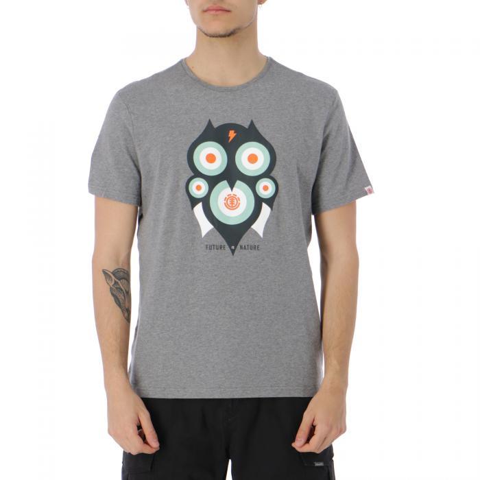 element t-shirt e canotte grey heather