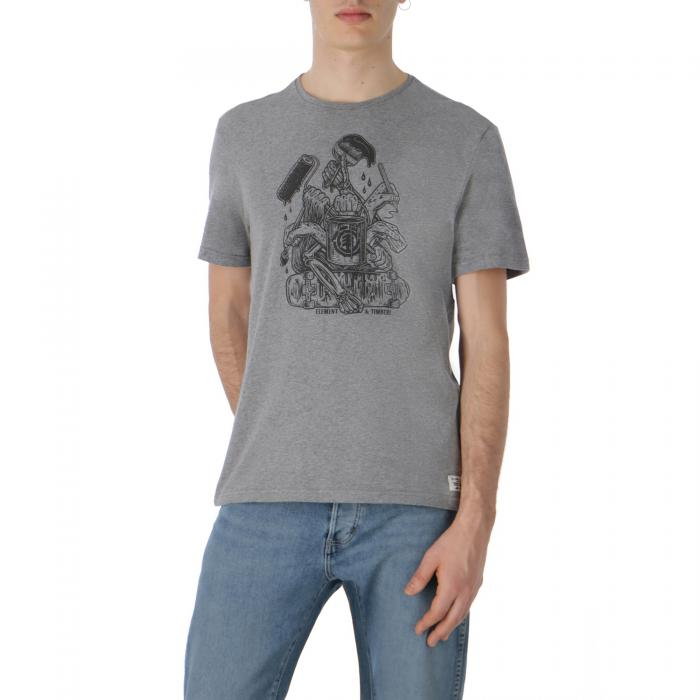 element t-shirt e canotte grey heather