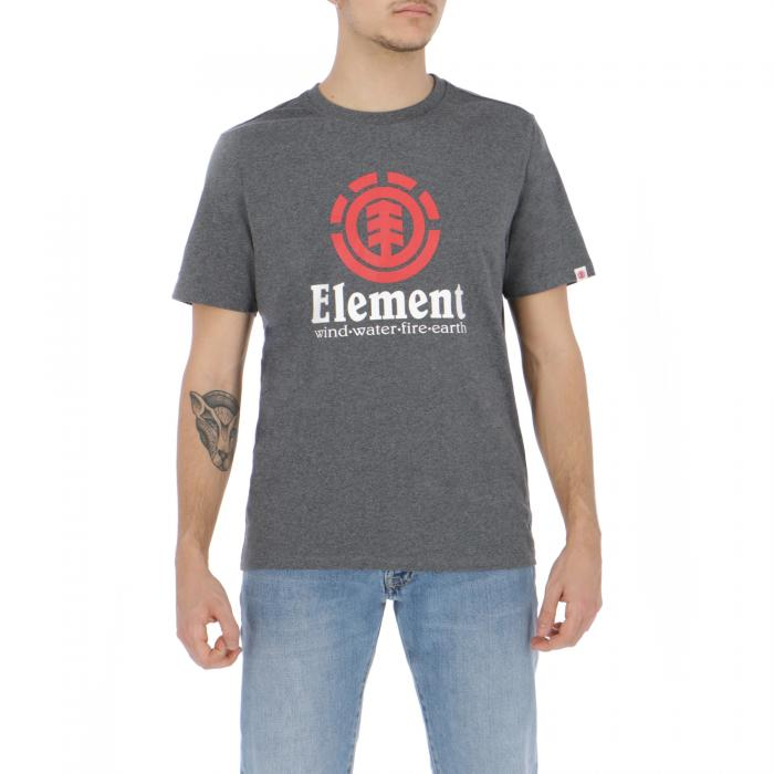 element t-shirt e canotte charcoal heather