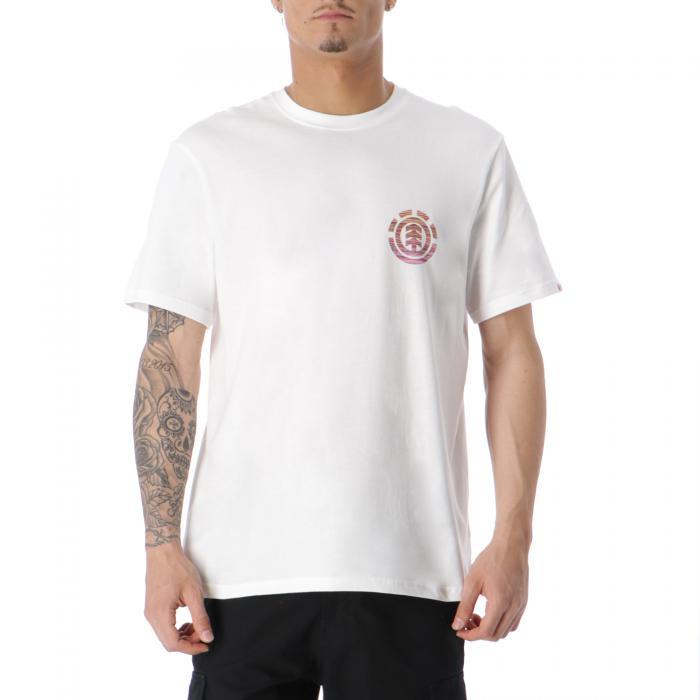 element t-shirt e canotte optical white