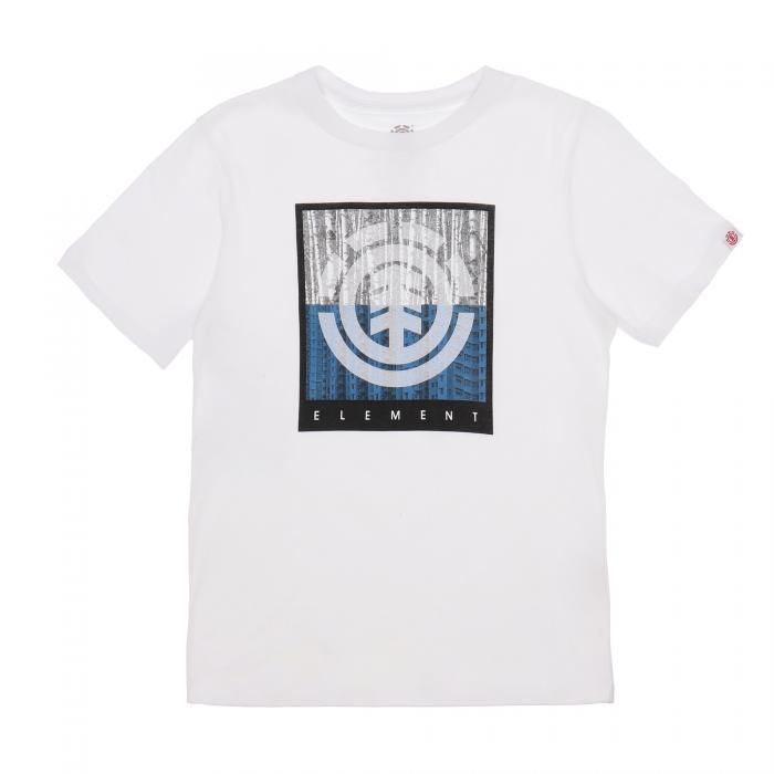 element t-shirt e canotte optic white