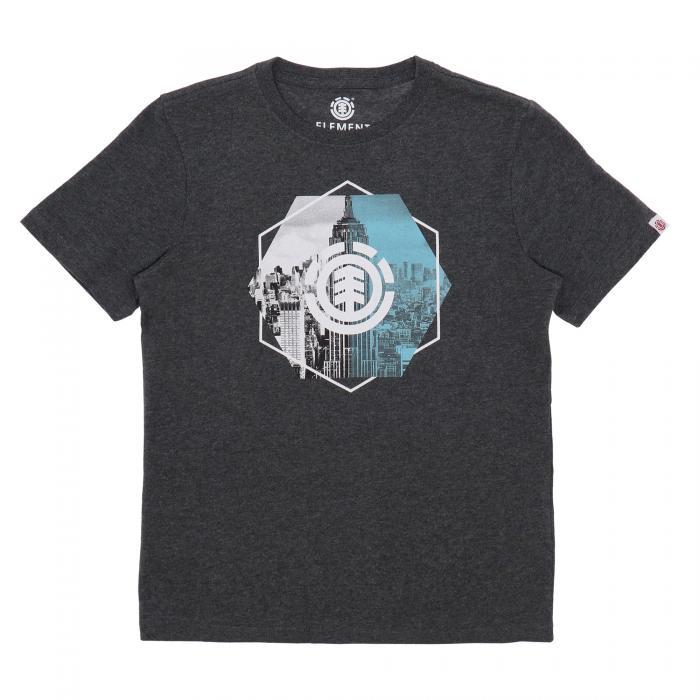 element t-shirt e canotte charcoal heather