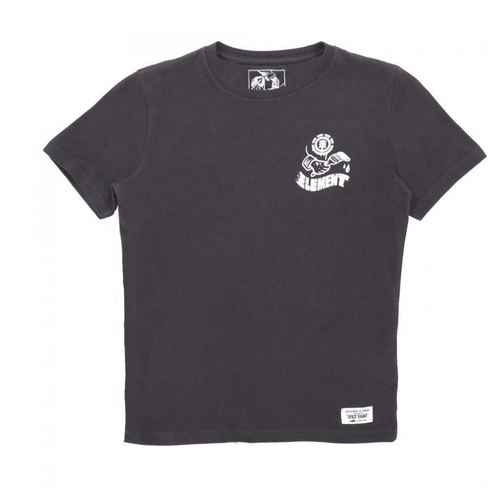 element t-shirt e canotte off black