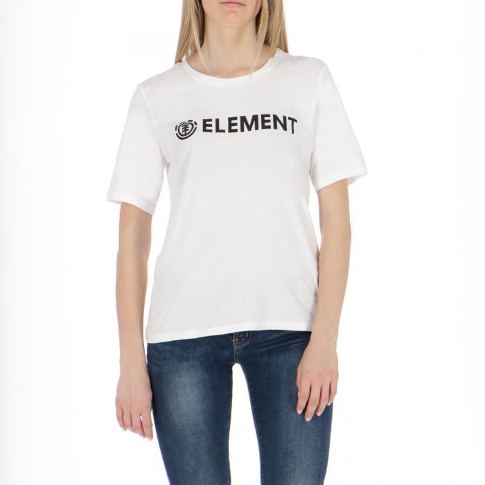 element t-shirt e canotte white