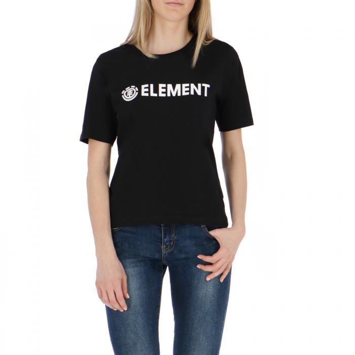 element t-shirt e canotte black