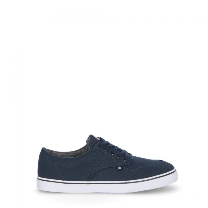 element scarpe skate navy cotton