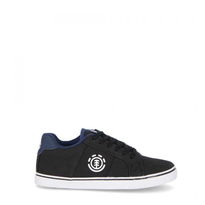 element scarpe skate black blue cotton