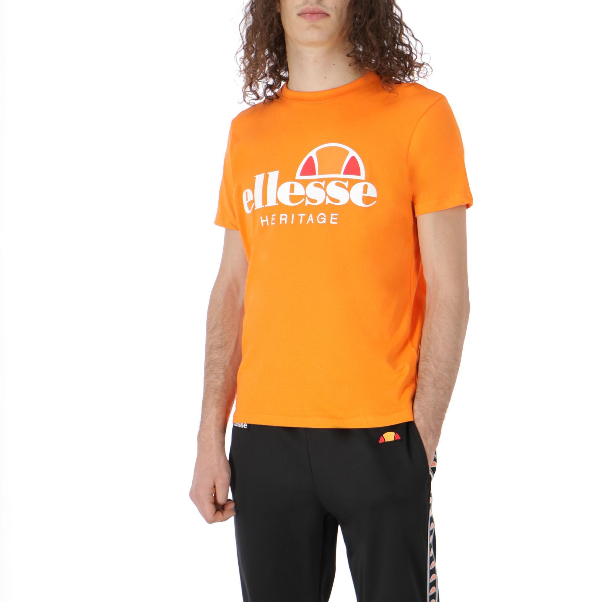 3b07f83a396 Ellesse Logo T-shirt<br/> Orange | Treesse