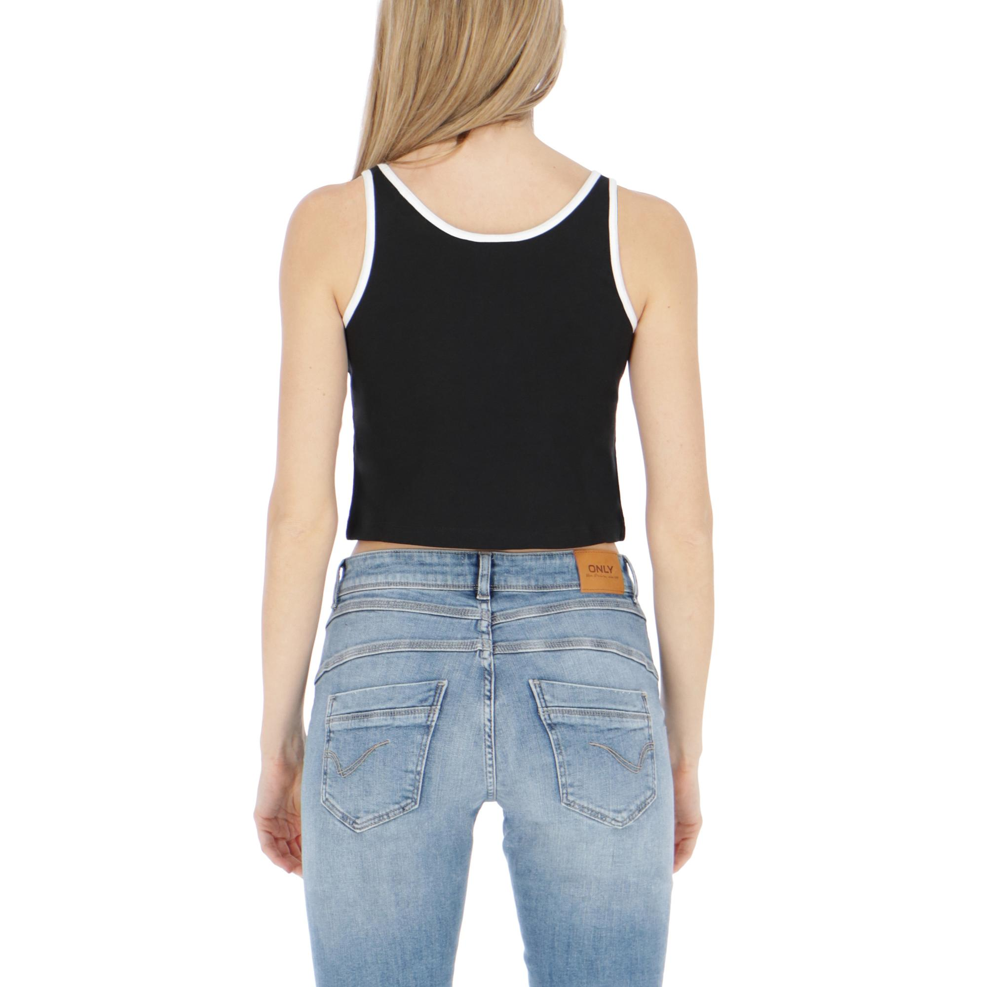 Ellesse Crop Top Black