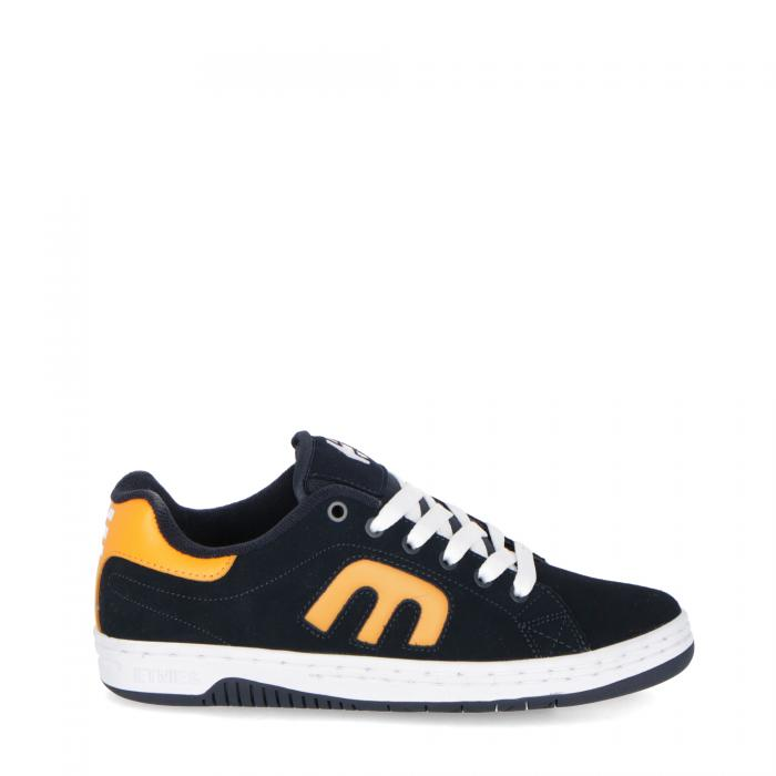 etnies scarpe skate navy orange white