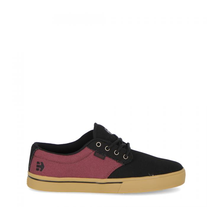 etnies scarpe skate black red gum
