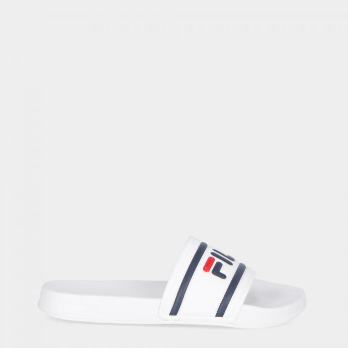 fila sandali e ciabatte white