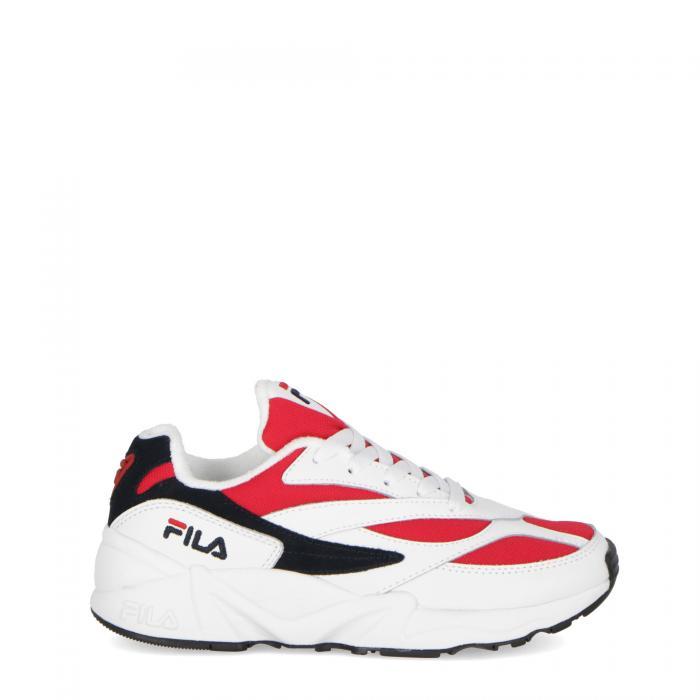 fila scarpe lifestyle white navy red