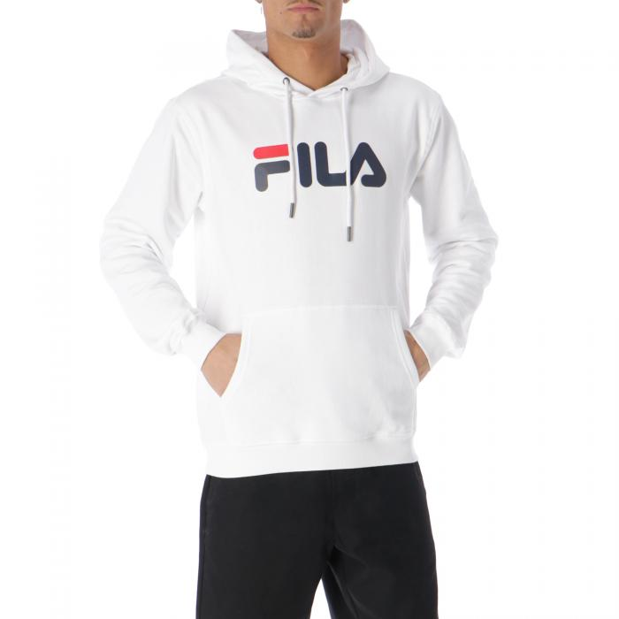 fila felpe bright white