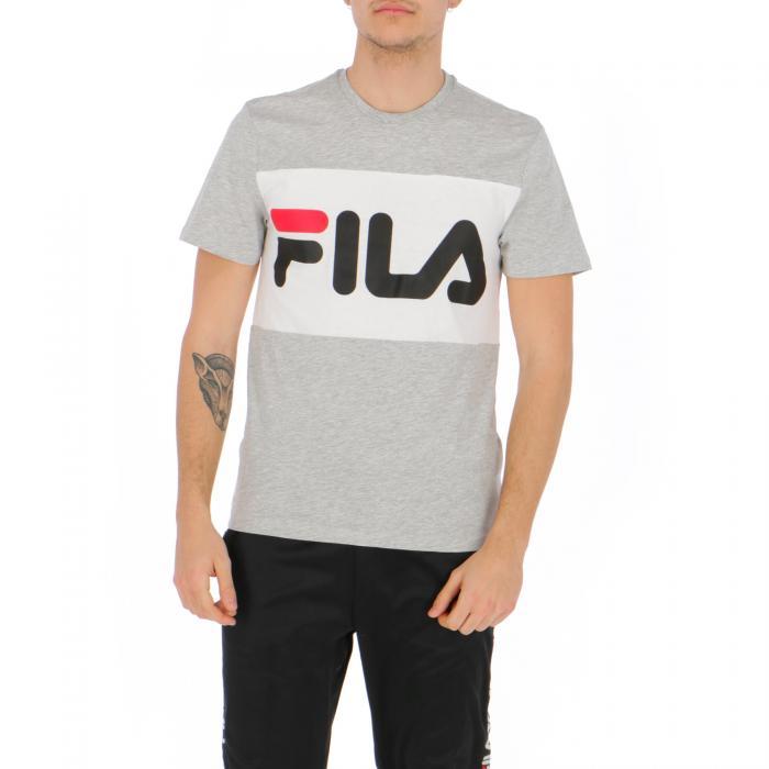 fila t-shirt e canotte grey melange