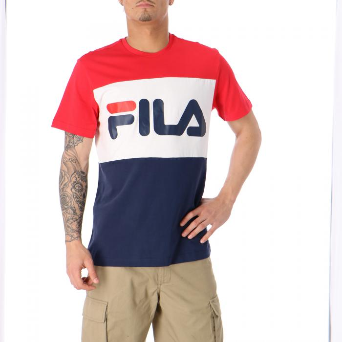 fila t-shirt e canotte black red white