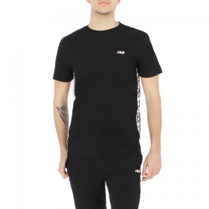 fila t-shirt e canotte black