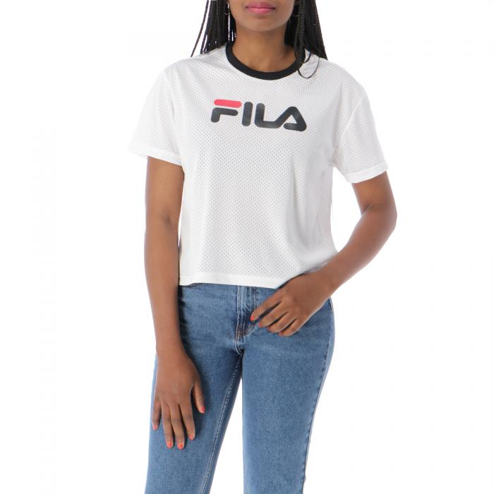 fila t-shirt e canotte bright white