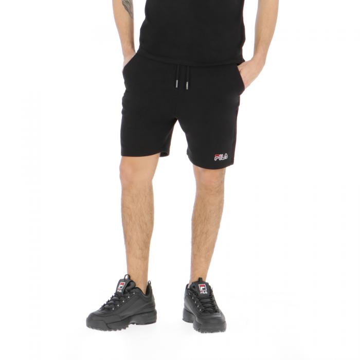 fila shorts black