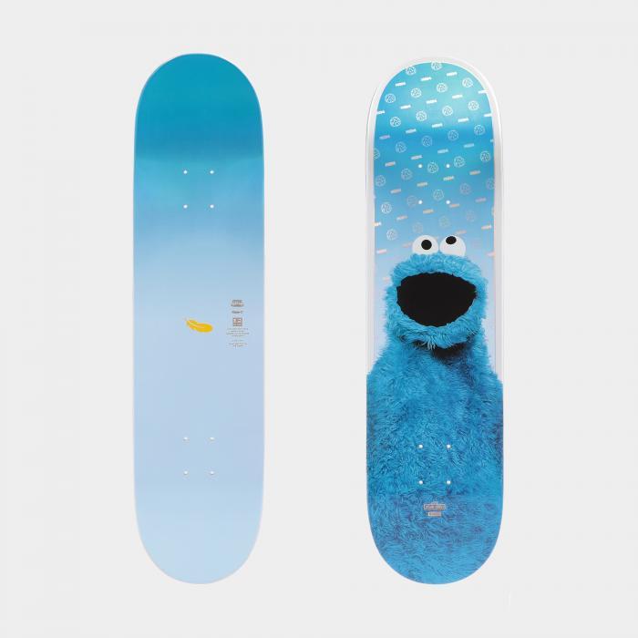globe skateboard cookie monster