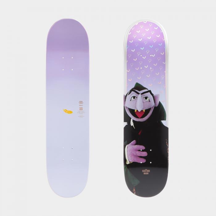 globe skateboard count von count