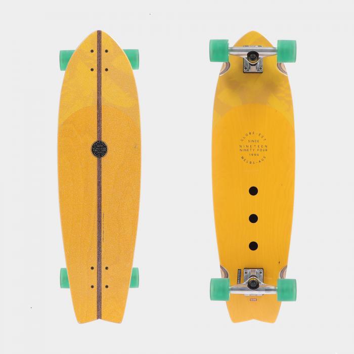 globe longboard mustard