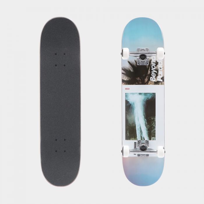globe skateboard white beyond