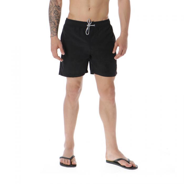 globe beachwear black