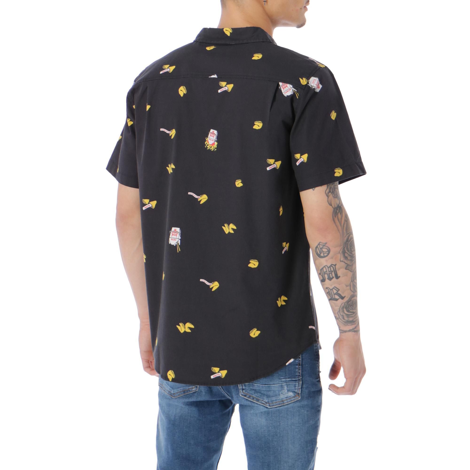 Globe Fortune Shirt Noir