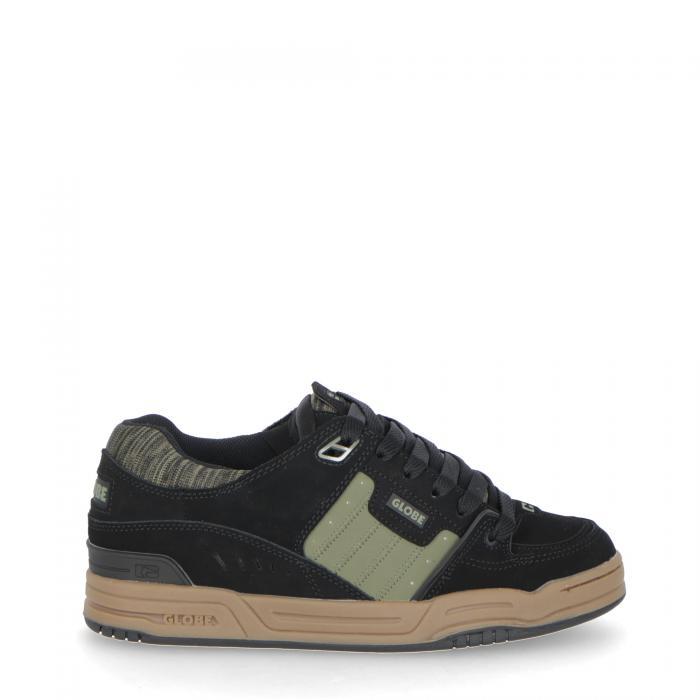 globe scarpe skate black/olive/knit
