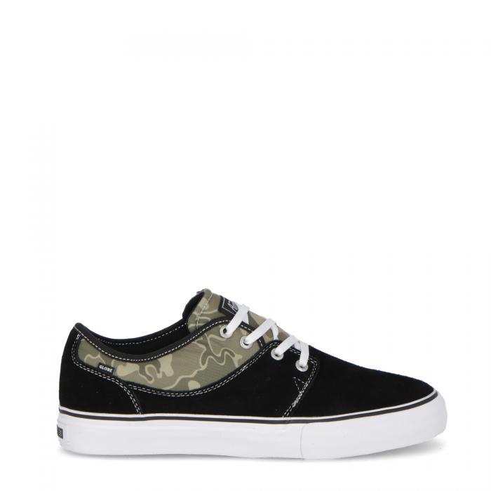 globe scarpe skate black green camo