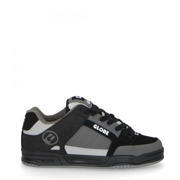 globe scarpe skate black grey mix