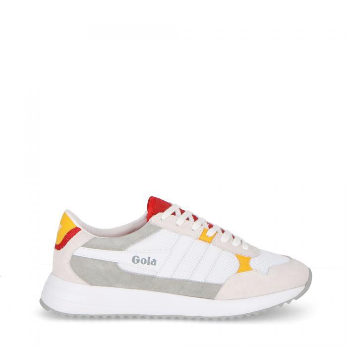 gola scarpe lifestyle white/red/sun