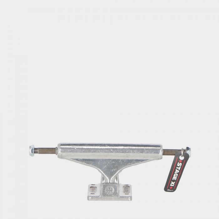 independent skateboard silver