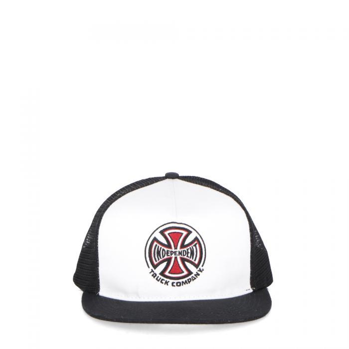 independent cappelli white black
