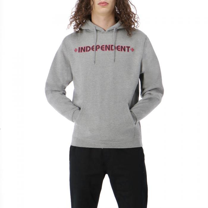independent felpe dark heather