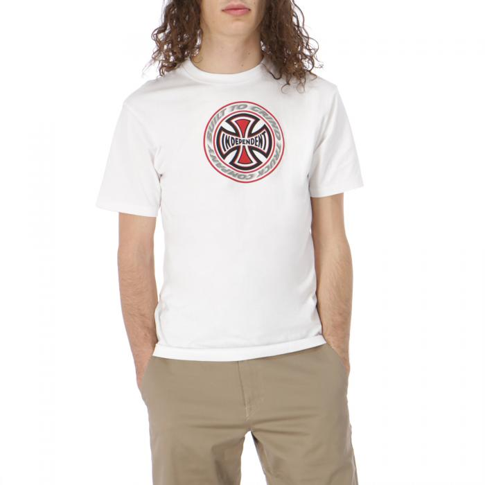 independent t-shirt e canotte white