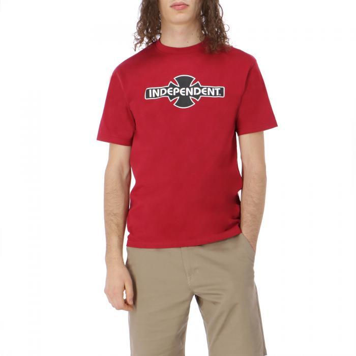independent t-shirt e canotte cardinal red