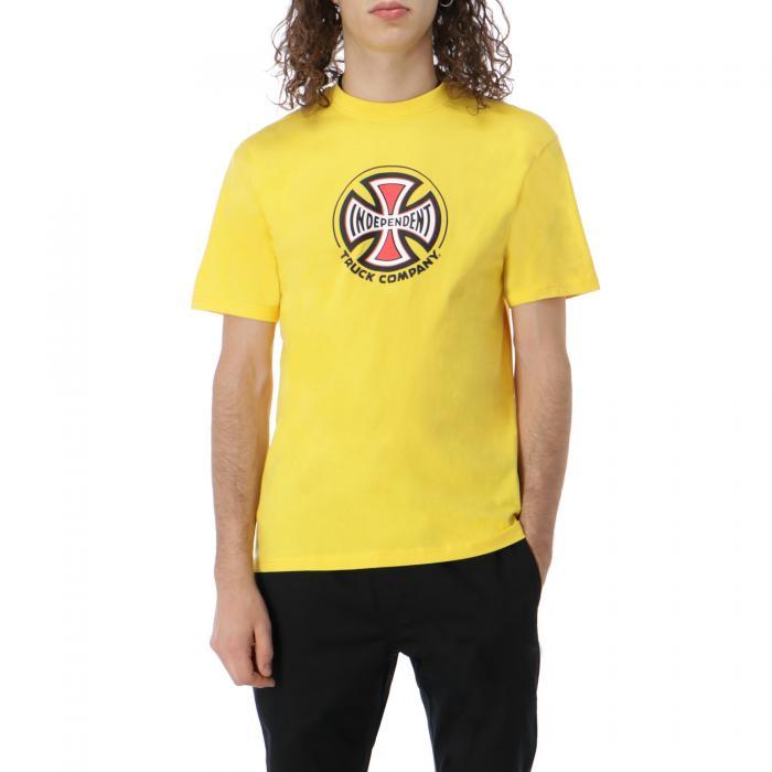 independent t-shirt e canotte yellow