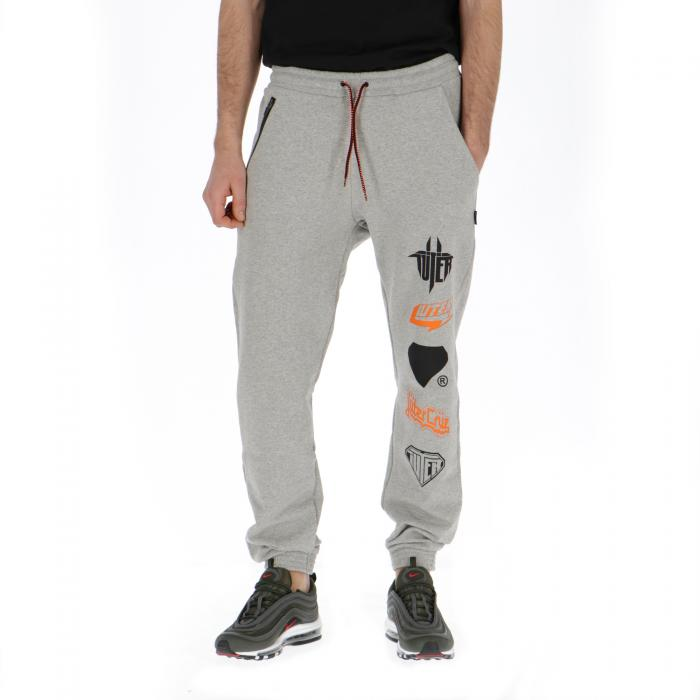 iuter pantaloni light grey