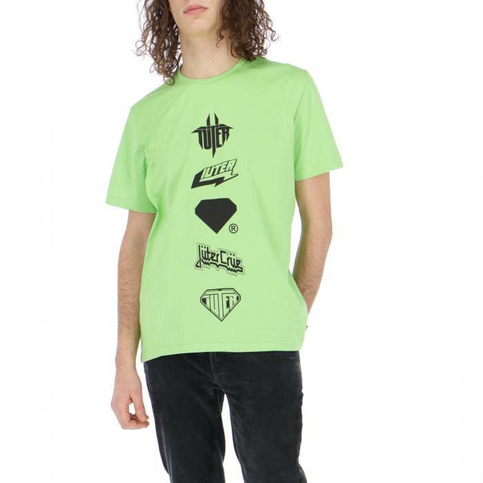 iuter t-shirt e canotte lime