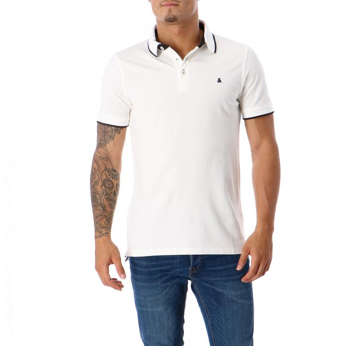 jack & jones polo white