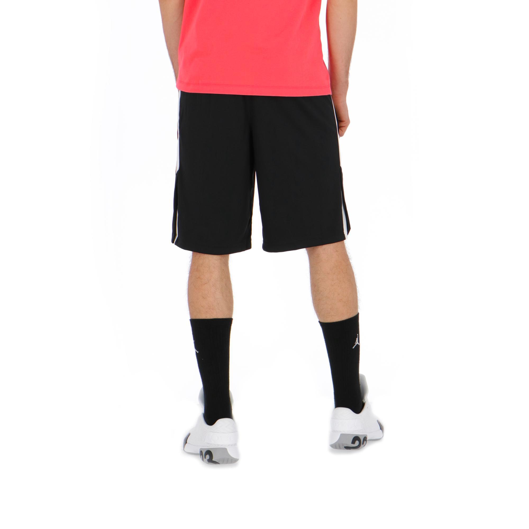 7145b1097fbb Jordan 23 Alpha Dry Knit Short br   Black White