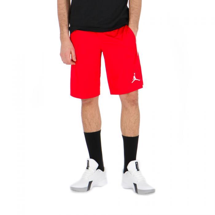 jordan shorts red white