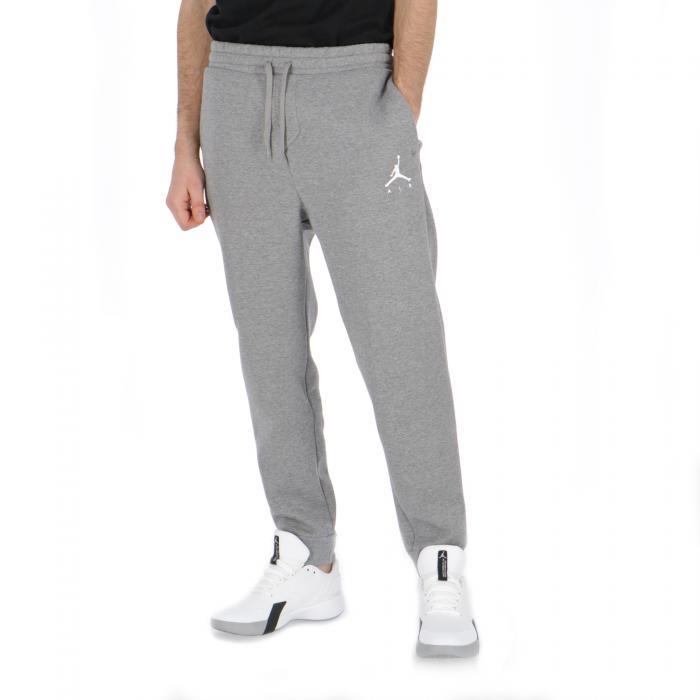 jordan pantaloni carbon heather/white