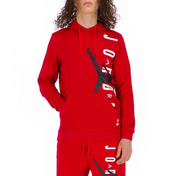 jordan felpe gym red/black